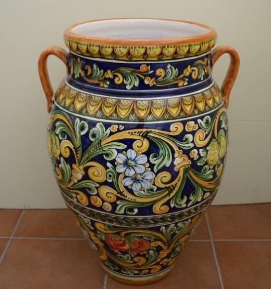 Oggetti Ceramica Di Caltagirone.Oggetti D Arredo Vasi Siad Ceramiche Di Caltagirone