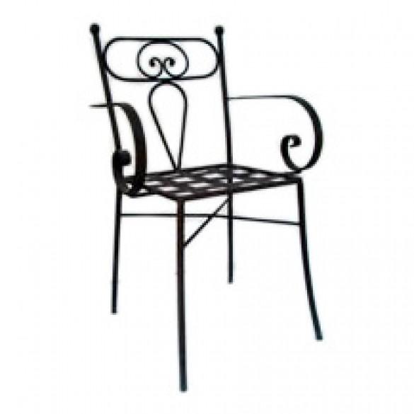 Tavoli Da Giardino Ceramica Caltagirone.Sedie In Ferro Da Interno Esterno Siad Ceramiche Di Caltagirone