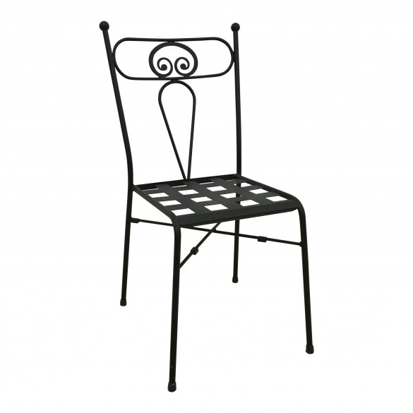 sedie in ferro battuto da interno design casa creativa e