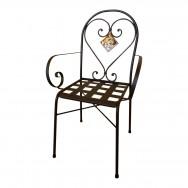 Preventivo sedie in ferro da interno esterno siad for Sedie da esterno in ferro